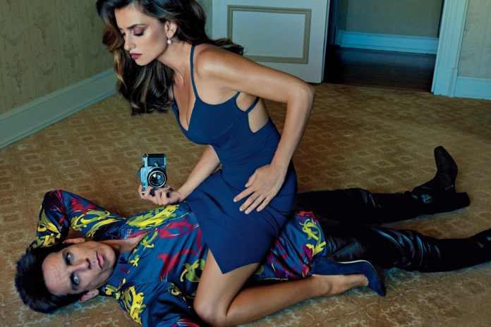 Derek Zoolander Covers 'Vogue' With Penélope Cruz