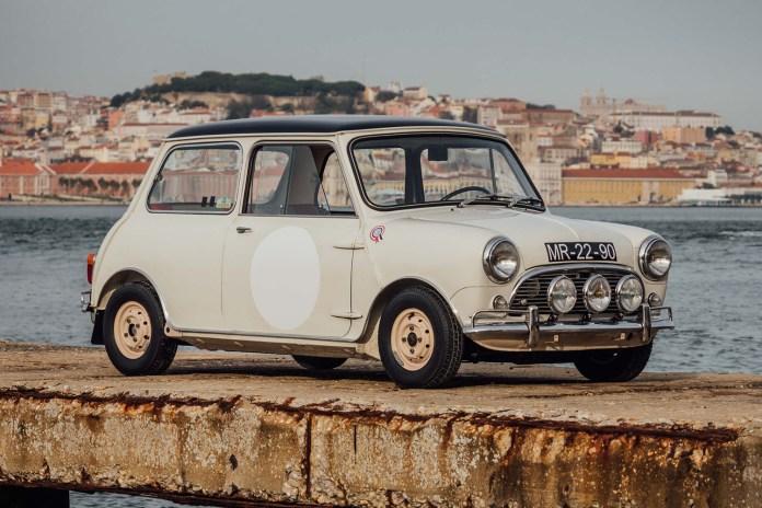 The 1963 Mini Cooper S Shows off Its Racing Pedigree