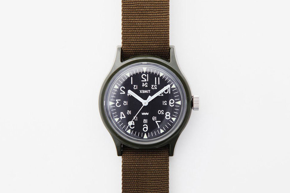 Engineered Garments and Beams Boy Team up to Flip a Camper Watch's Face
