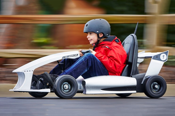 The Actev Arrow Smart-Kart Is the Electric Vehicle You Wish You Had in Your Childhood