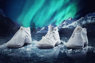 adidas's Aurora Borealis Triple White Collection Only Reveals Its True Colors at Night