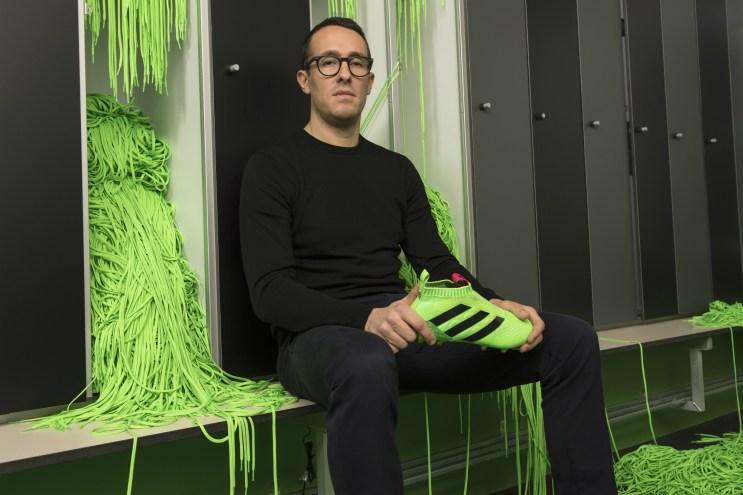 Meet The Man Behind adidas' Laceless Football Boot