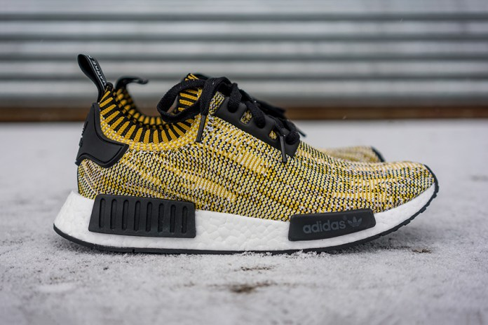 "adidas Originals NMD Returns in a ""Yellow Camo"""