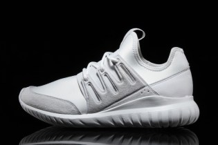"adidas Gives the Tubular Radial the ""Whiteout"" Treatment"
