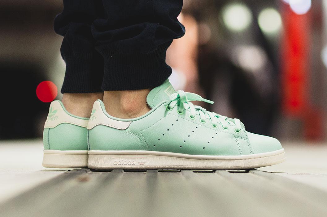 "adidas Unveils a Spring-Ready Pastel Stan Smith ""Frozen Green"""