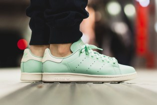 "adidas Unveils a Spring-Ready Pastel Stan Smith ""Frozen Green"""