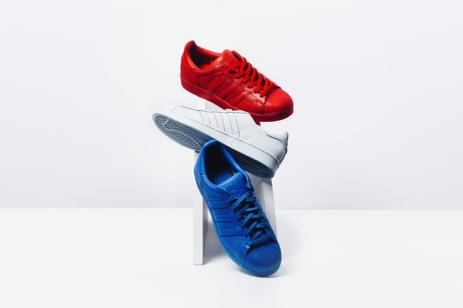 adidas Updates the Superstar in the Tricolore in New adicolor Collection