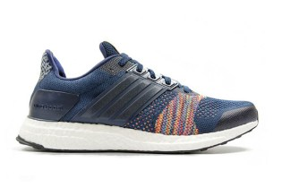 "adidas Ultra Boost ST ""Multicolor"" Blends a Color Burst with Cool Blue"