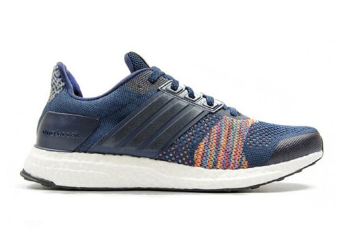 """adidas Ultra Boost ST """"Multicolor"""" Blends a Color Burst with Cool Blue"""