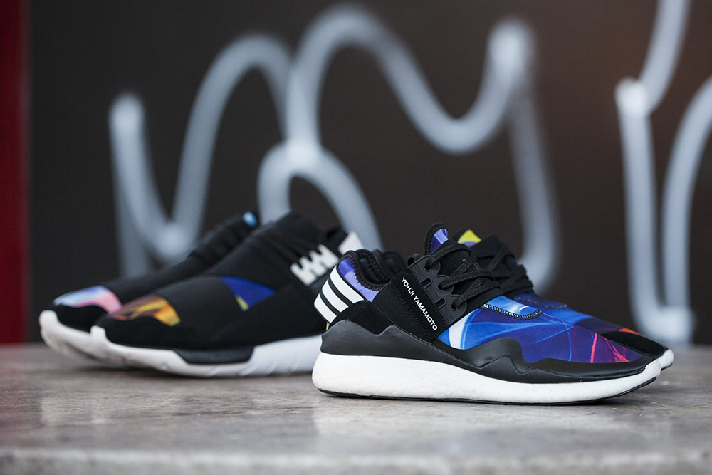 y 3 multicolor retro boost sneaker hypebeast. Black Bedroom Furniture Sets. Home Design Ideas