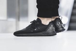 "adidas ZX Flux ADV ""Black"" Features a Clear Heel Cap"