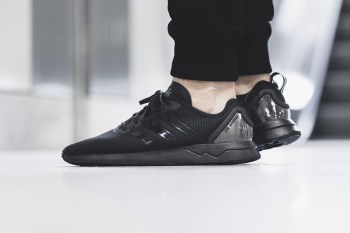 "adidas ZX Flux ADV ""Black"" Features a Clear Heel Cap"