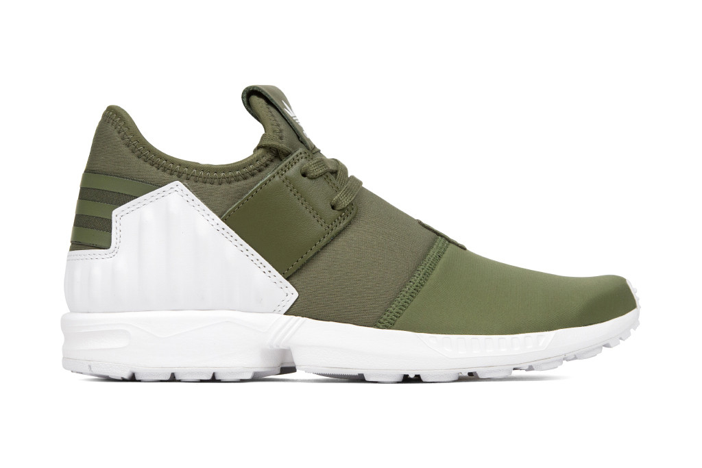 adidas's ZX Flux Plus Model Receives an Olive Colorway