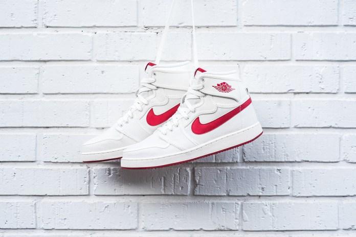 Air Jordan 1 Retro KO High OG Sail/Varsity Red