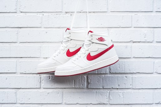 Air Jordan 1 Retro KO High OG Sail/Varsity Red