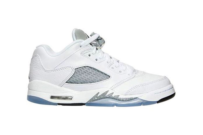 "Air Jordan 5 Retro Low ""White/Wolf Grey"""