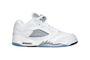 "Air Jordan 5 Retro Low ""White/Wolf Grey"""