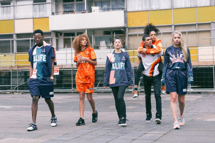 Behind the Scenes of the PUMA x ALIFE Collection Shoot in Shoreditch