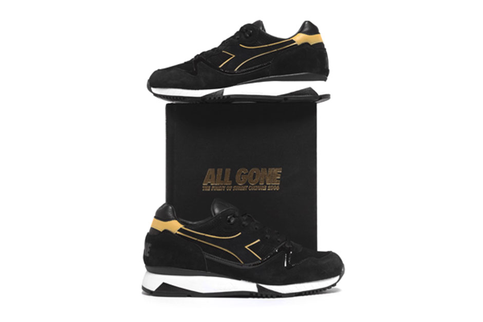 All Gone Celebrates a Decade in Print With a 2006-Inpsired La MJC x Diadora V7000