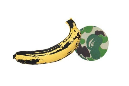 BAPE and Medicom Toy Present This Exclusive Andy Warhol Banana Pillow