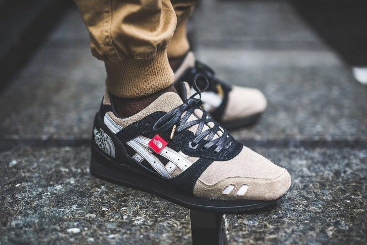 """The North Face x ASICS GEL-Lyte III """"The Apex"""" Customized Sneaker"""