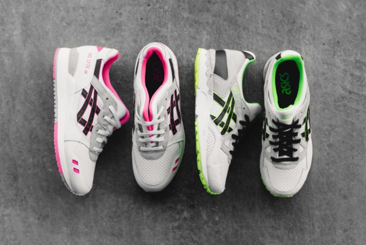 """ASICS Taps the GEL-Lyte III & GEL-Lyte V for the """"Volt Perfect"""" Pack"""