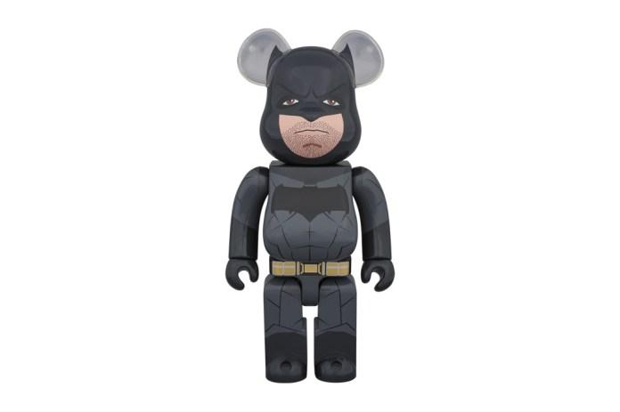'Batman v Superman: Dawn of Justice' x Medicom Toy 400% Batman Bearbrick