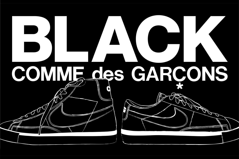 Dover Street Market New York Is Dropping More BLACK COMME des GARÇONS x Nike Blazers