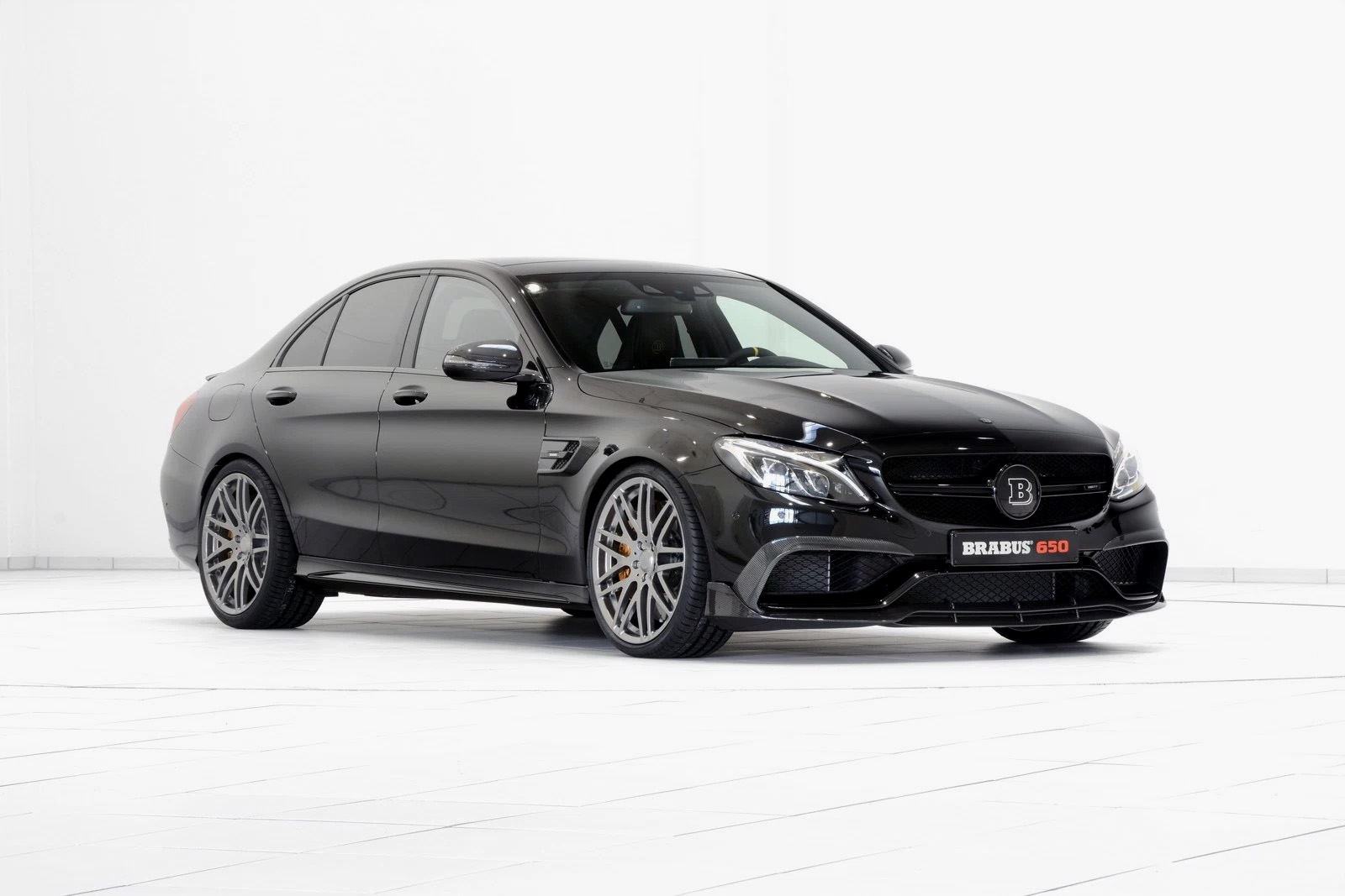 Brabus Unveils Its 641 Horsepower Mercedes-AMG C63 S