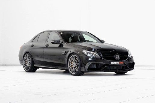 Brabus Unveils Its 641 Horsepower Mercedes-AMG C63 S
