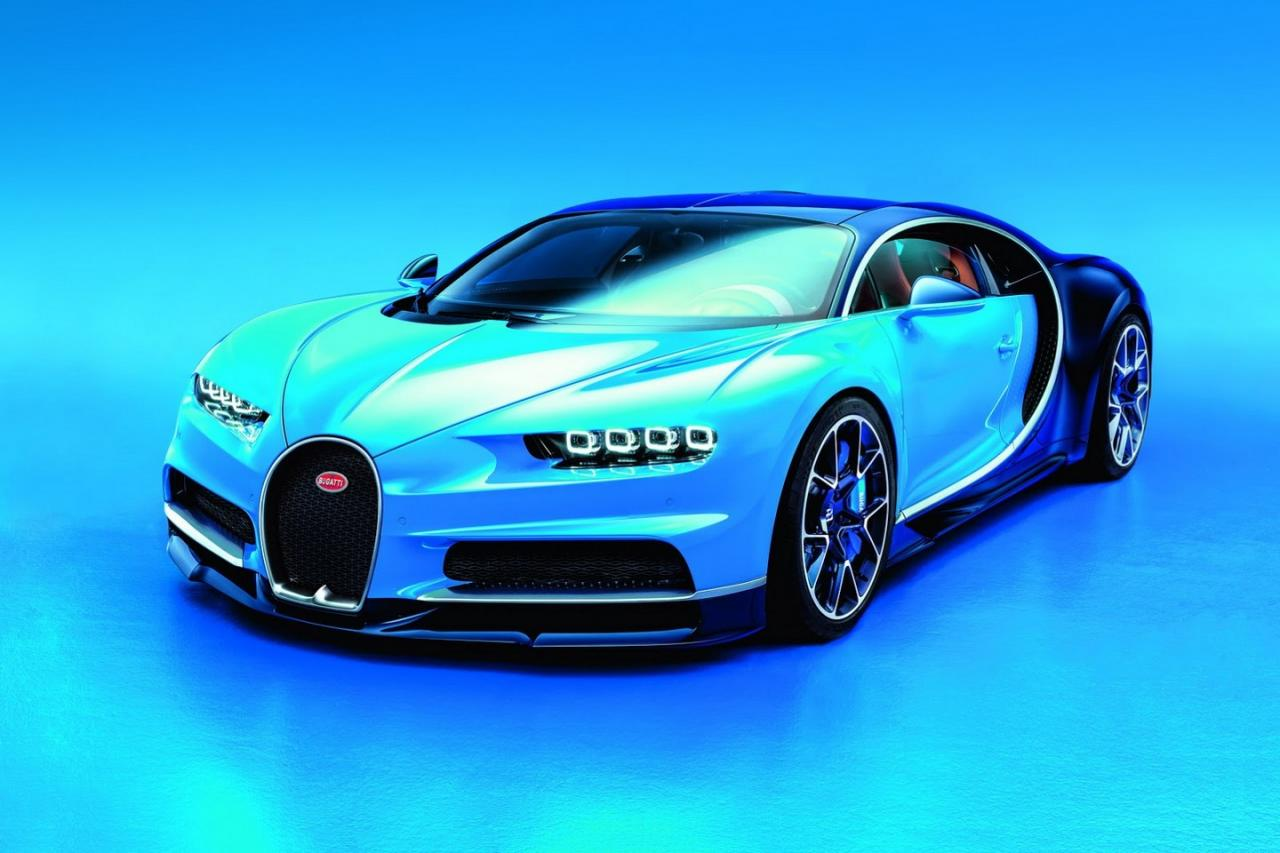 Bugatti Reveals the Chiron