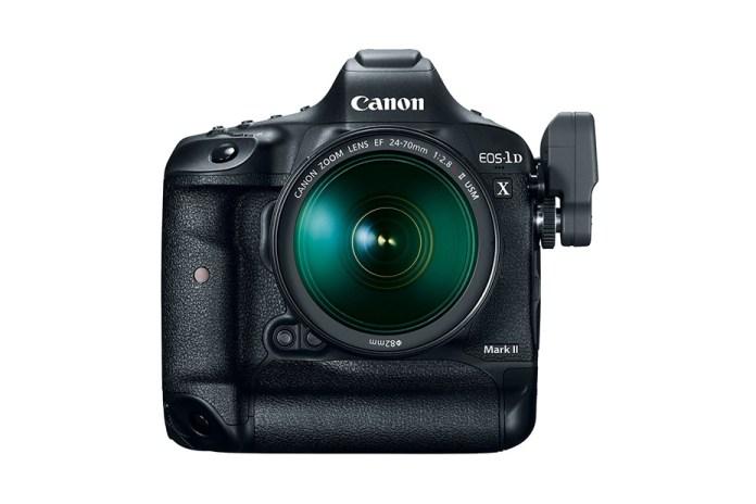 Canon Debuts the EOS-1D X Mark II DSLR Camera