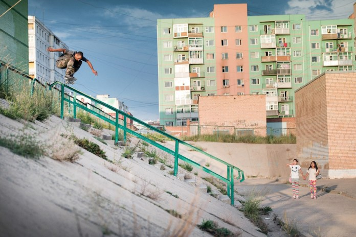 Watch Carhartt WIP's Team Shred Ulaanbaatar in 'Out Of Steppe'