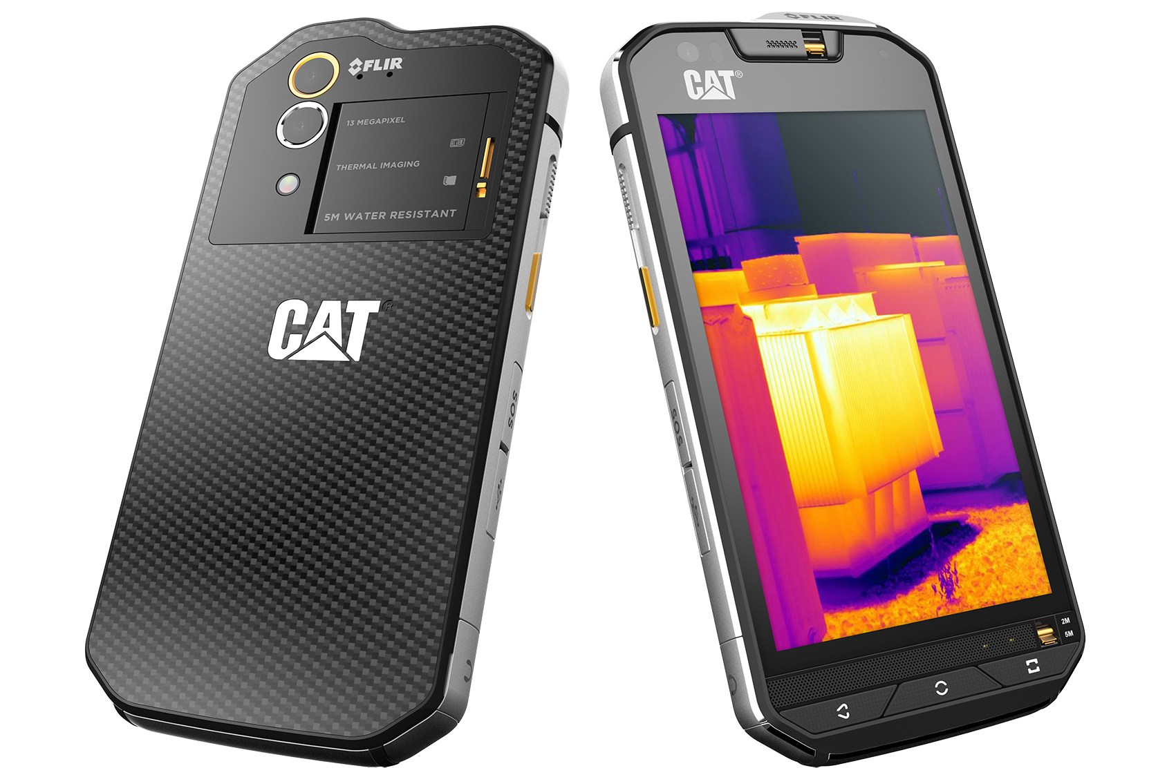 Caterpillar Debuts the World's First Thermal Camera Smartphone