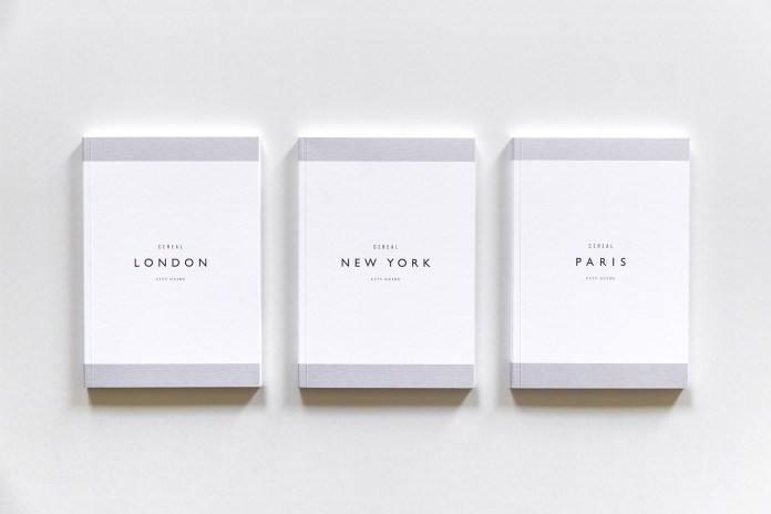 'CEREAL Magazine' Introduces Its Own Guide to the City of Lights