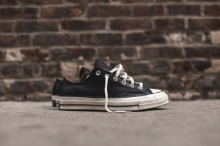 Converse's Chuck Taylor All Star Ox Model Receives a Leather Makeover