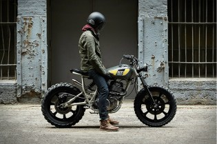 This Custom Yamaha SR500 May Be the Sexiest Rebuild to Date