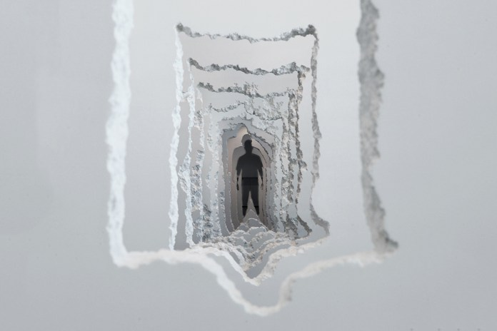 Daniel Arsham Tore Through 300 Feet of Wall for His Newest Exhibition