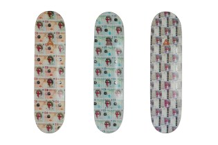 Thames London x Palace Skateboards Co-Branded Skatedecks