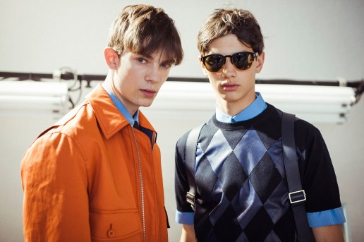 Dior Homme Les Essentiels Goes Argyle for 2016 Spring/Summer