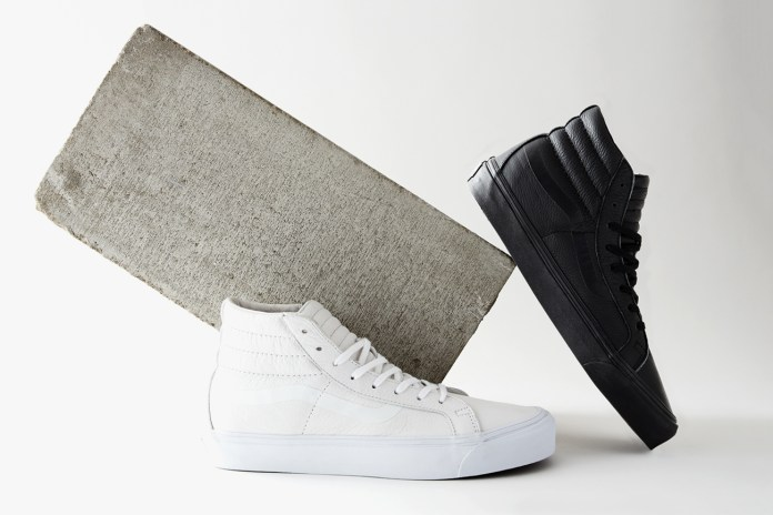 """DQM x Vans """"The Halves"""" Footwear Collection Welcomes You Into the Lap of Luxury"""
