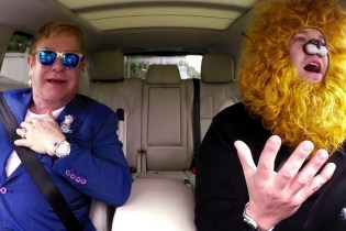 "The Great Elton John Joins James Corden for a Dose of ""Carpool Karaoke"""