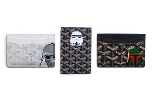 Eric Ramirez x Mason Rothschild Custom Hand-Painted Star Wars Goyard Cardholders