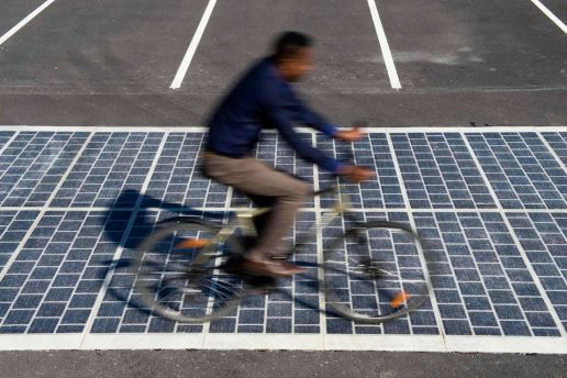 France Is Set to Convert Hundreds of Miles of Roads Into Solar Panels