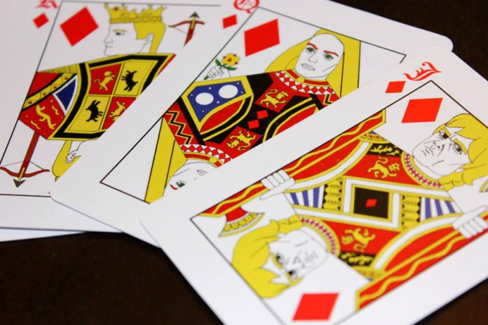'Game of Thrones' Playing Cards
