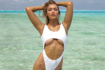 Gigi Hadid Uncovered for the 2016 'Sports Illustrated Swimsuit Issue'
