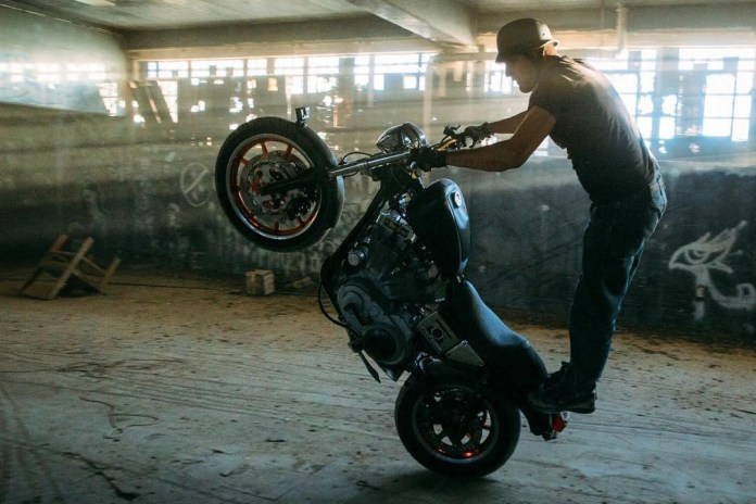 Wheelie Through an Abandoned Prison With GoPro