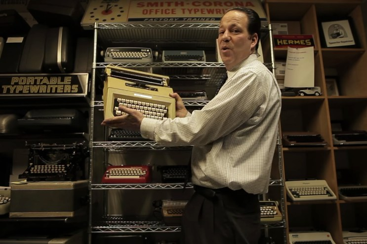 Meet the Father and Son Keeping the Typewriter Alive