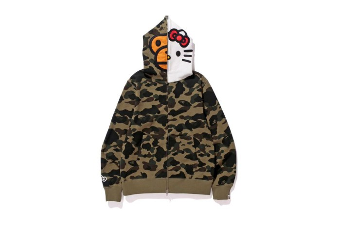 Hello Kitty & A Bathing Ape Team up for Valentine's Day
