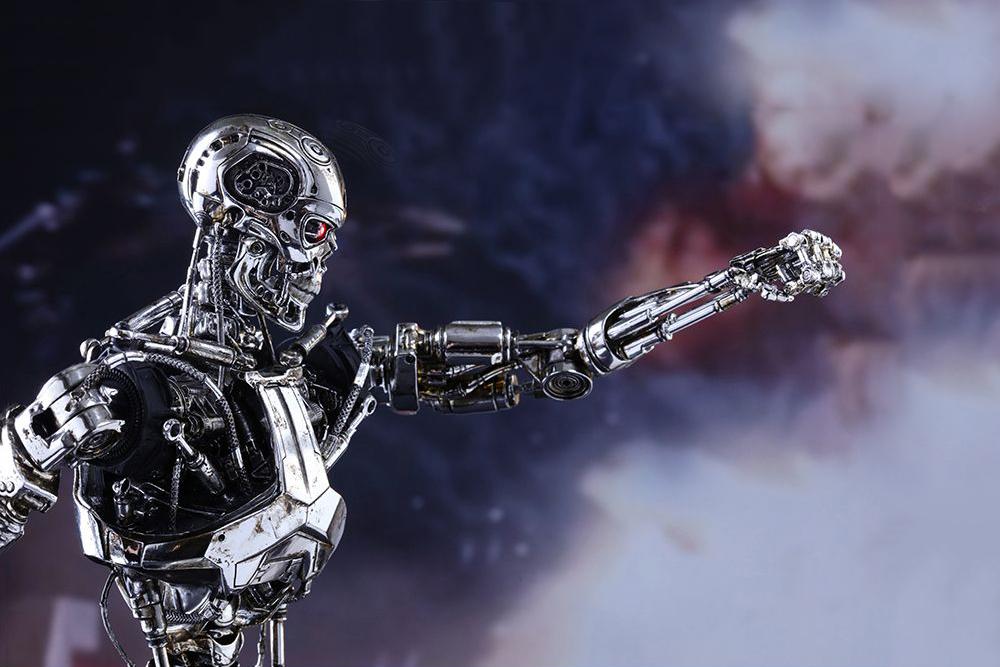 Hot Toys Terminator Genisys Endoskeleton Collectible ...